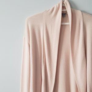 aerie blush lounge cardigan